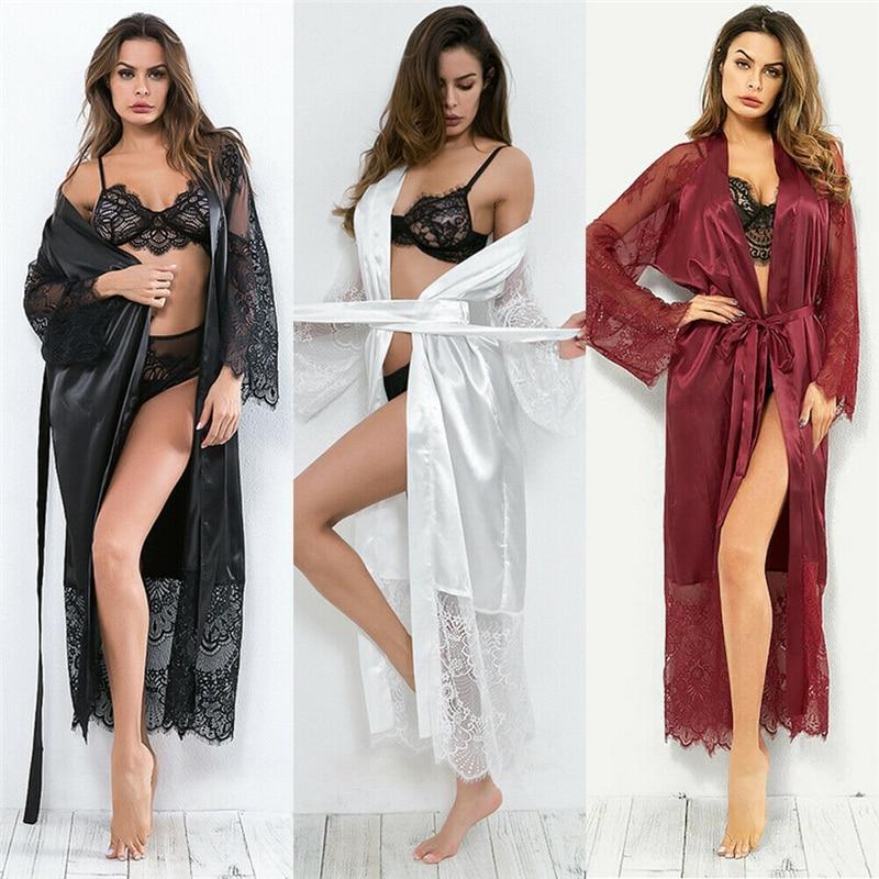Women Bathrobe Sleepwear Robes Sleep For Woman Wedding Dresses Bridal Gowns Plus Size 3XL 610