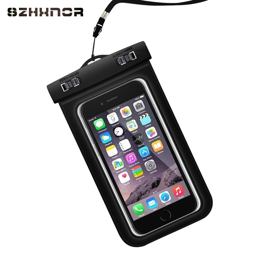 Waterproof Pouch Mobile Phone Bags 30M Underwater Dry Case Cover For iphone 5 6 6S 7 Plus Samsung galaxy s8 s8+ s7 for LG Xiaomi
