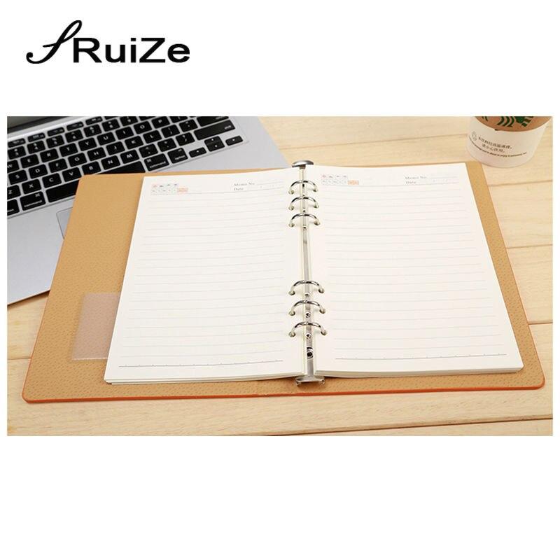 RuiZe 2017 σκληρό εξώφυλλο φορητό δέρμα - Σημειωματάρια - Φωτογραφία 4