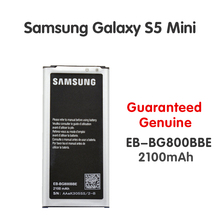Original Samsung Replacement Battery EB-BG800BBE EB-BG800CBE For Galaxy S5 mini S5MINI SM-G800F G870a G870W 2100mAh NFC Batteria samsung original replacement battery bateria s5 eb bg800cbe for samsung galaxy s5 mini s5mini g800f 2100mah s5mini g870a g870w