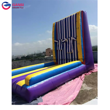 Funny gameskids n adults Various Inflatable Sport Arena , inflatable sticky rock climbing wall for sale недорого