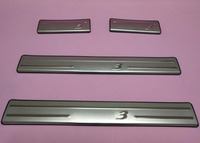 Stainless steel Door Sill Scuff Plate Welcome Pedal For MazdaS 3 Axela 2014 2015 2016