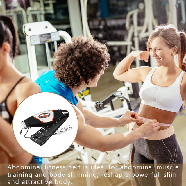Waist Vibrating Massager, Electric Body Slimming Massager Belt Muscle Burning Fat Weight Losing Trimmer Health Care Tools 5