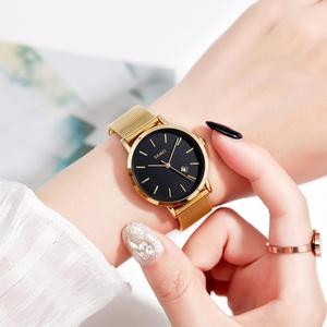 Image 5 - SKMEI 패션 여성 시계 캐주얼 석영 손목 시계 간단한 스타일 3bar 방수 스테인레스 스틸 시계 밴드 reloj mujer 1530