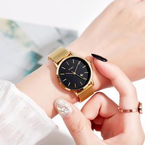 Image 5 - SKMEI Fashion Women Watch Casual Quartz Wristwatches Simple Style 3bar Waterproof Stainless Steel Watchband reloj mujer 1530
