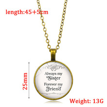 Always my sister forever my friend Time Crystal Pendant Necklace my sister jodie page 3