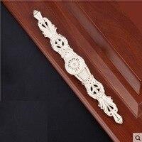 256 мм длинные металлические тянуть ручки ручка цвета слоновой кости твердого анодирует для мебели Дверь ящика Шкаф Кабинет Шкаф архаизмы