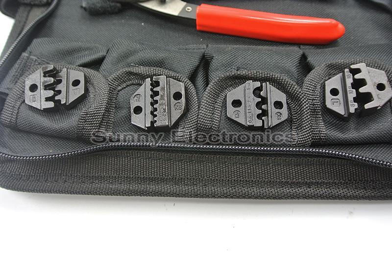Set / kit di utensili per crimpatura SN-02C con tronchese, pinza a - Utensili manuali - Fotografia 2