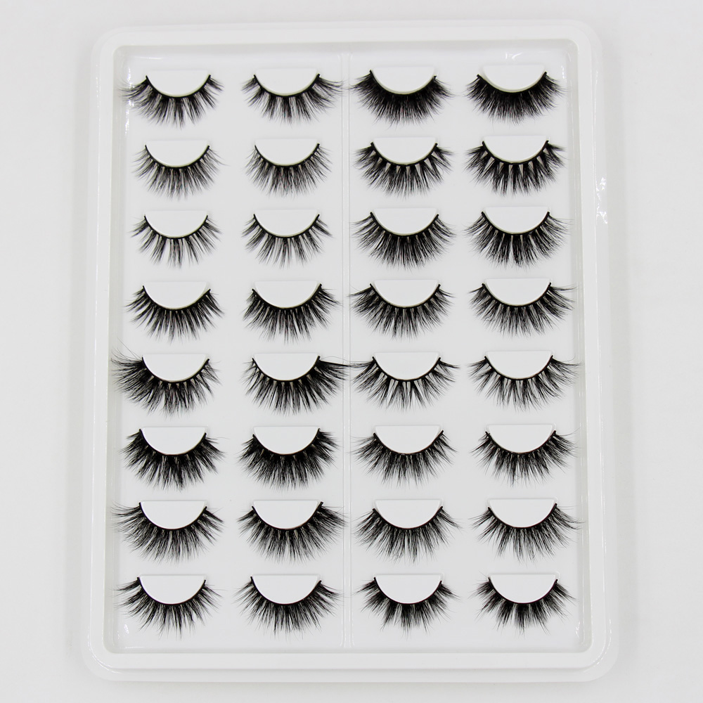 AMAOLASH Eyelashes 3D Mink False Eyelashes Cruelty Free Fluffy Luxury 3D Mink Full stripe Lashes Extension Makeup 16 Pairs / BoxAMAOLASH Eyelashes 3D Mink False Eyelashes Cruelty Free Fluffy Luxury 3D Mink Full stripe Lashes Extension Makeup 16 Pairs / Box