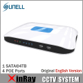 SUNELL QN14P 6MP 4CH P2P NVR NVR Network Video Recorder 1080 P Ovifi Suporte Bidirecional de Áudio IOS Android Relógio