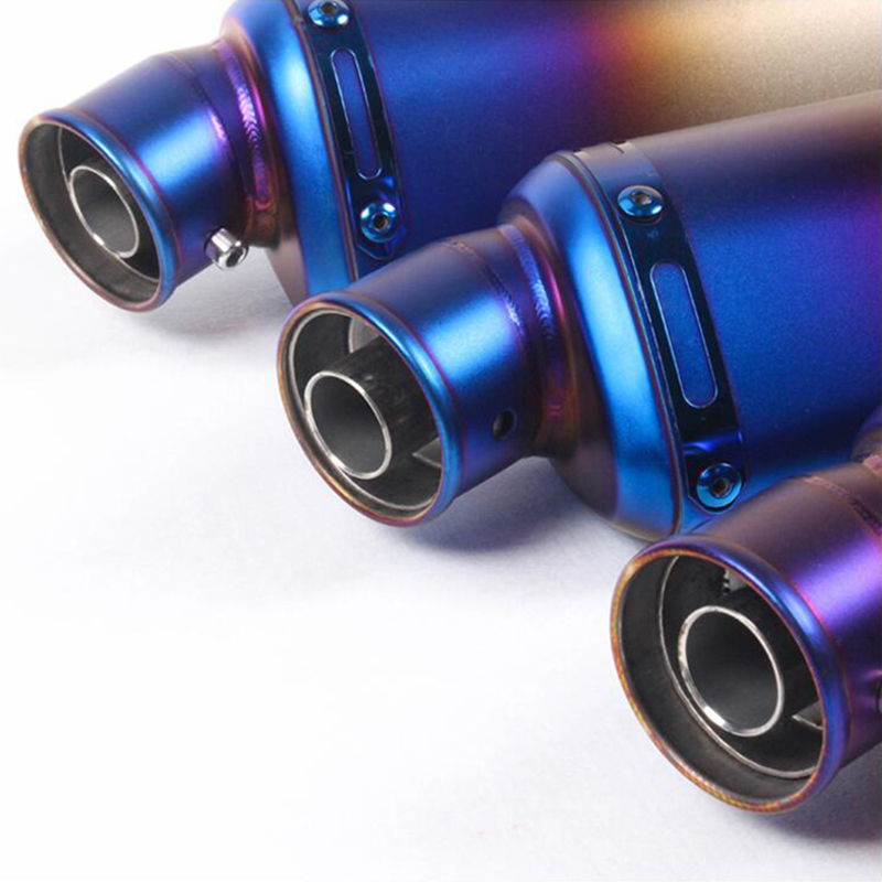 Muffler Silencer Escape Exhaust-System Db Killer Atv-Bike Motorcycle Universal with Removable