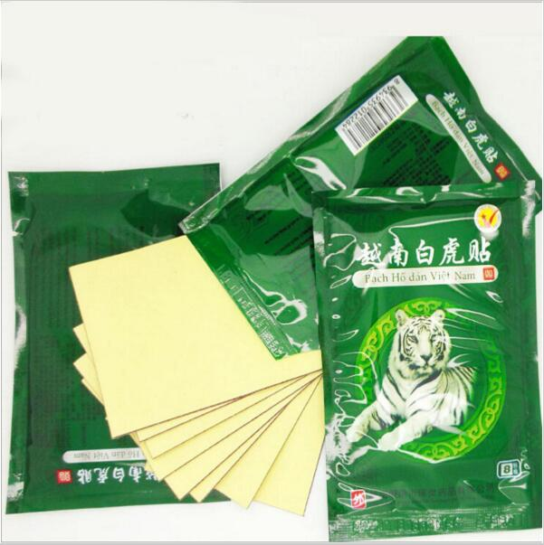 цена на 32pcs/lot Vietnam White Tiger Balm Muscle Rthritis Neck Body Massage Relaxation Capsicum Rheumatism Plaster Pain Patch MR013