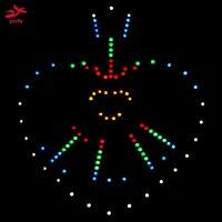led music New Dance Light led electronic diy kit,IR switch music spectrum (4)