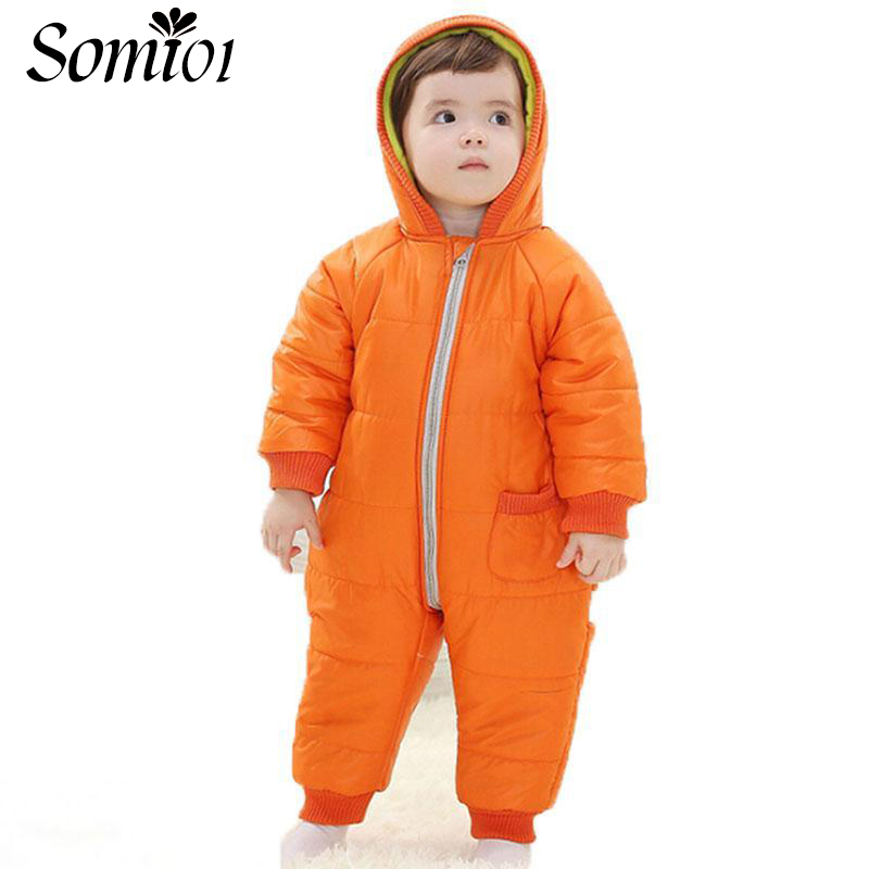9-24 Months Baby Winter Clothes Girl Boy Romper Warm Baby Winter Jumpsuit Skiing Outerwear Clothing Infant Kid Colorful Snowsuit warm infant romper baby boys girls jumpsuit 7 18 months baby clothing cotton baby clothes cute animal romper baby costumes