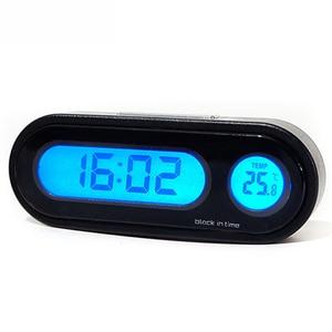 Auto Car Clock 2 in 1 Digital