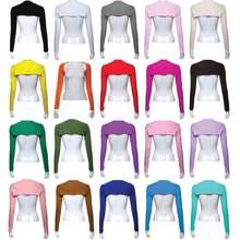 Neue Mode Ein Stück Sleeves Arm Abdeckung Shrug Hijab Muslimischen Frauen Hijab 20 Farben Arm Wärmer Femme