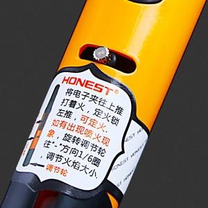 Image 3 - Spray Gun Jet Butane Lighter Metal Pen Torch Turbo 1300 C Fire Windproof Pipe Cigar Lighter Cigarette Accessories No Gas