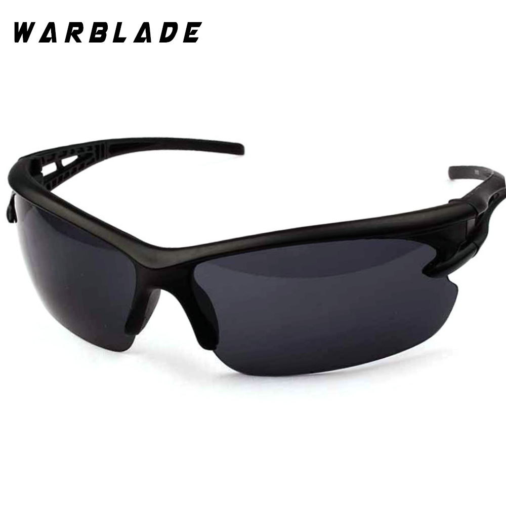 Warblade Night Vision Driving Glasses Yellow Black Lenses Driver Safety UV Sunglasses Goggles Fashion Men Women Day Night Glass