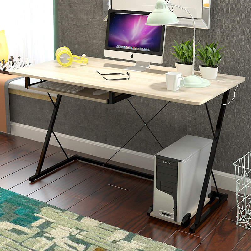 Modern Simple Fashion Office Desk High Quality Computer Desk Laptop Table Writing Study Table Standing Desk 250616 computer desk and desk style modern simple desk with bookcase desk simple table solder edge e1 grade sheet material