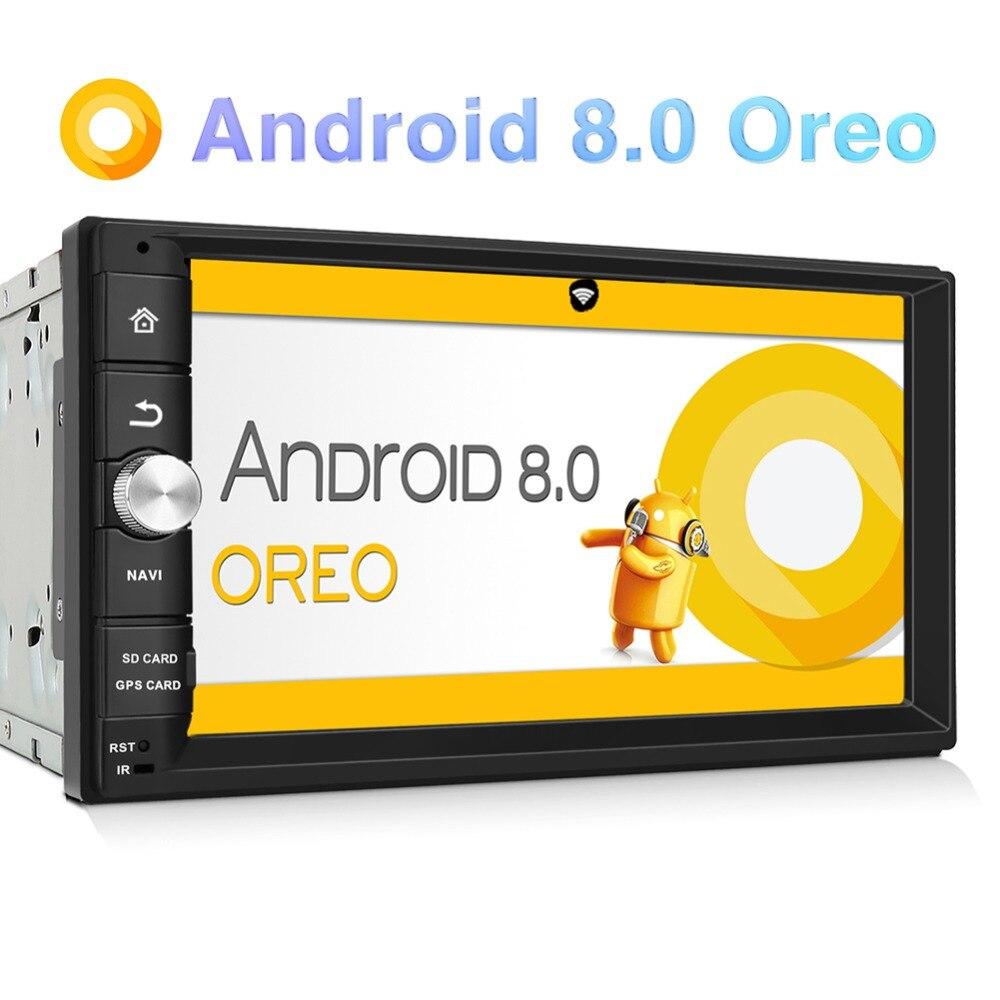 Pumpkin Octa Core RAM 2G ROM 32G 2 Din 7Android 8.0 Universal Car Stereo GPS Navigation Fast Boot Headunit Radio Player NO DVD
