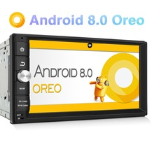 Pumpkin Octa Core RAM 2G ROM 32G 2 Din 7Android 8.0 Universal Car Stereo GPS Navigation Fast Boot Headunit Radio Player NO DVD