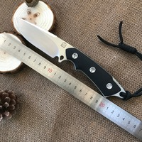 D2 Bolte G10 Hunting Survival Knife Camp Fixed Blade Knife Straight Knives Outdoor Multi EDC Knife