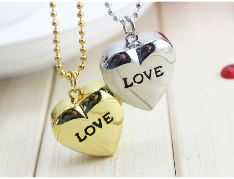 2016 New Love Heart To You Bronze Necklace Chain Pocket Watch With Diamand Chain Gift Free Shipping