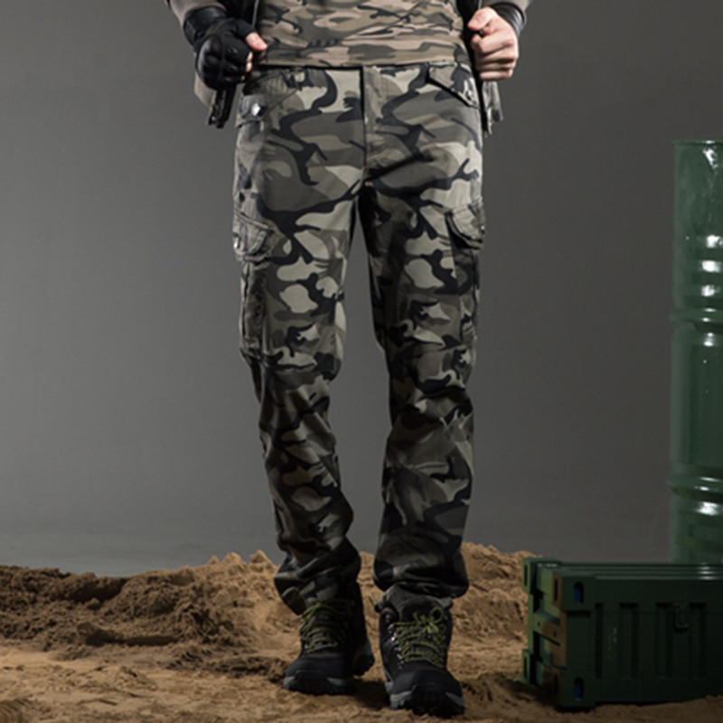 2017 Fashion Military Tactical Pants Brands Men Winter Track Pants Casual Compression Pants Men Military Pockets Pants Mk-7156B