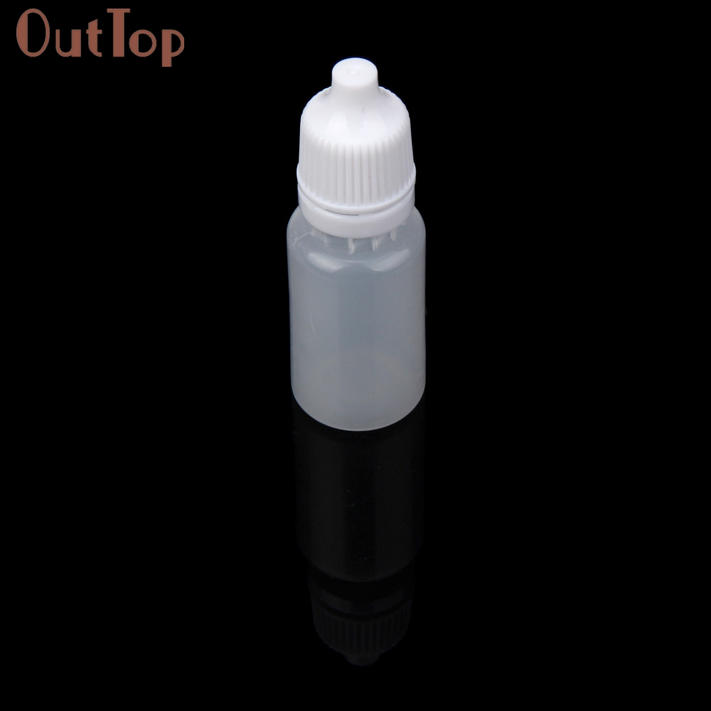 Image 4 - OutTop  100PCS 5ml/10ml/15ml Empty Plastic Squeezable Dropper Bottles Eye Liquid Dropper Refillable Bottles 2018 DEC19-in Refillable Bottles from Beauty & Health