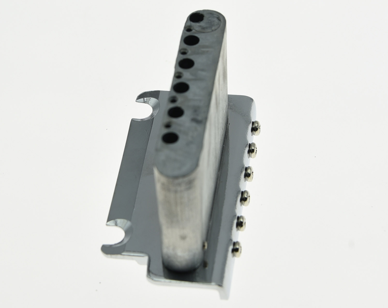 KAISH 2 Point Guitar Tremolo Bridge Locking System  Chrome//Black