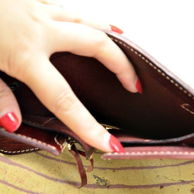 Genuine leather wallet 8