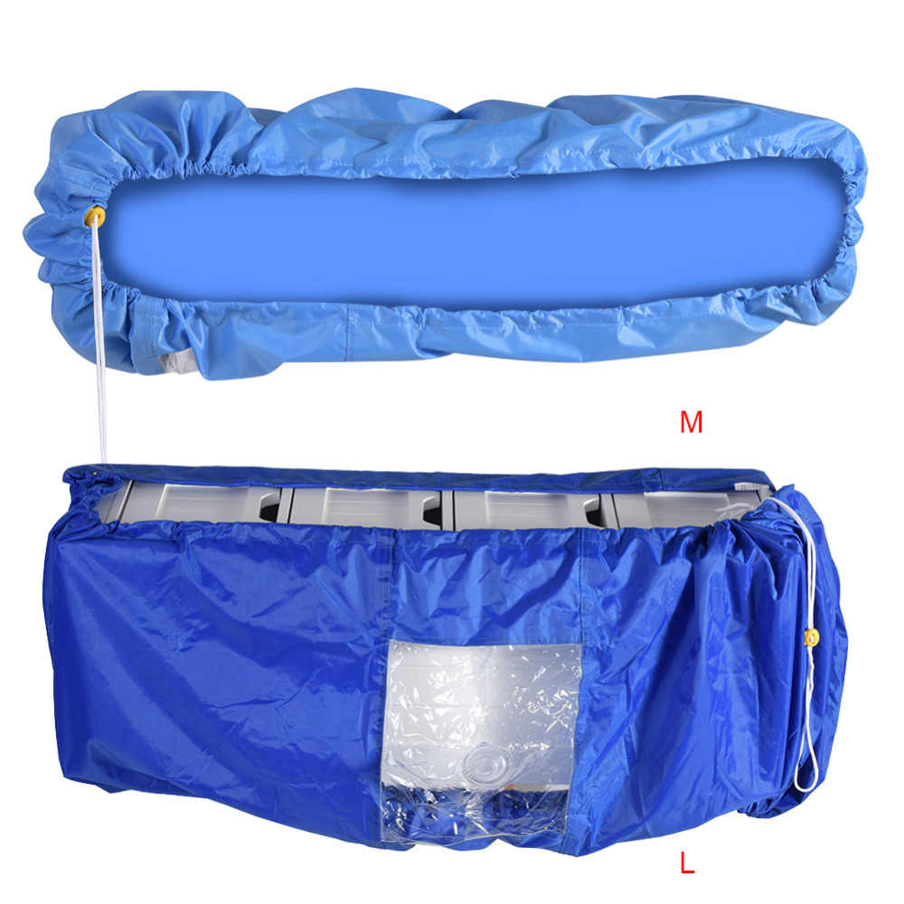Air Conditioner Cleaning Dust Washing Cover Waterproof Protector For DIY Washing Home Cleaning Tools