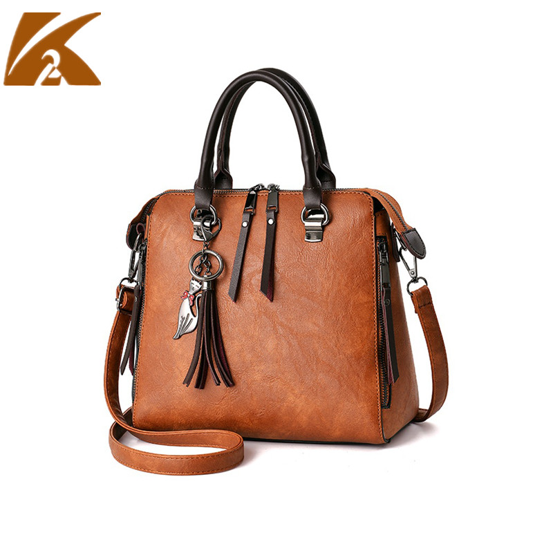 Новая мода Crossbody сумки для Для женщин Винтаж work Tote Курьерские сумки Высокое качество Для женщин кожа Портфели Сумки сумка