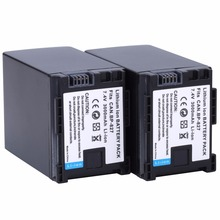 2Pcs Probty BP-827 BP 827 Battery For Canon HF10 HF11 HF100 HF20 HF200 HF S10 S11 S100 S20 S21 S200 S30 G10 Digital Camera