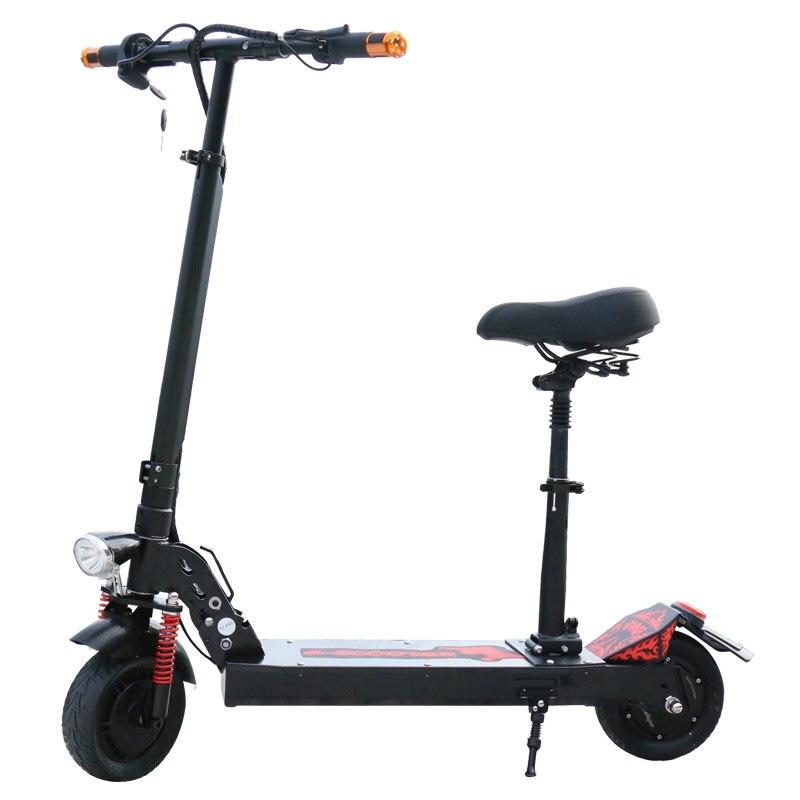 Scooter électrique de Longboard de Scooter électrique puissant de 350 W Mini Scooter électrique adulte Scooter électrique pliable de dérive Scooter léger - 3