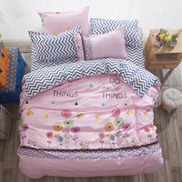 Butterfly 4pcs Girl Boy Kid Bed Cover Set Duvet Cover Adult Child Bed Sheets And Pillowcases Comforter Bedding Set 2TJ 61021