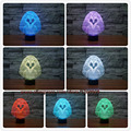 3D New Fashion Creative Cartoon OWL Night Light and Lamp 3D LED Night Light Colorful Gradient Atmosphere Lamp Novelty Lighting