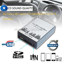 SITAILE USB SD AUX Car MP3 Music Player Adapter for Volvo HU-series C70 S40/60/80 V70 XC70 Interface Simple Installation(China)