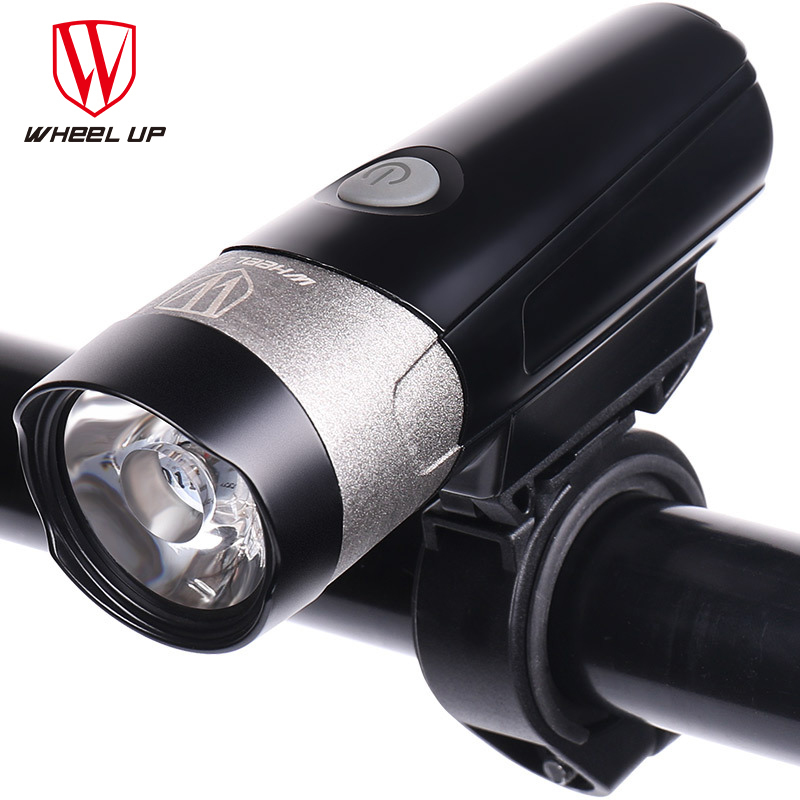 Wheel Up MTB Motorcycle Portable Waterproof Lights Table Cycling Rechargeable Led Bike Light Fixture for Bicycle Accessories wheel up bike head light cycling bicycle led light waterproof bell head wheel multifunction mtb lights lamp headlight m3014
