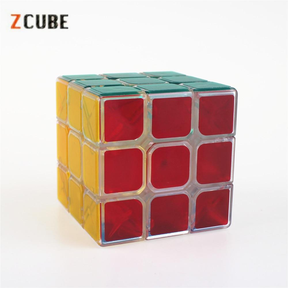 Magic Cubes 2019 Fashion Mini Snake Speed Cubes Twist Puzzle Toys Portable Pocket Sticker Puzzle Cube Educational Toys For Children Magic Cubes