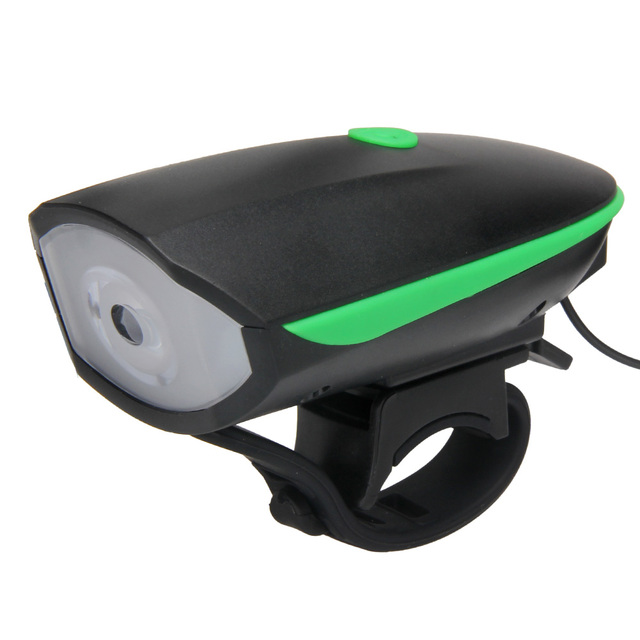 656278dab44 2 in 1 Bike Horn   Light Multifunction Rechargeable Bicycle LED Lights Front  Handlebar Bike Cycling