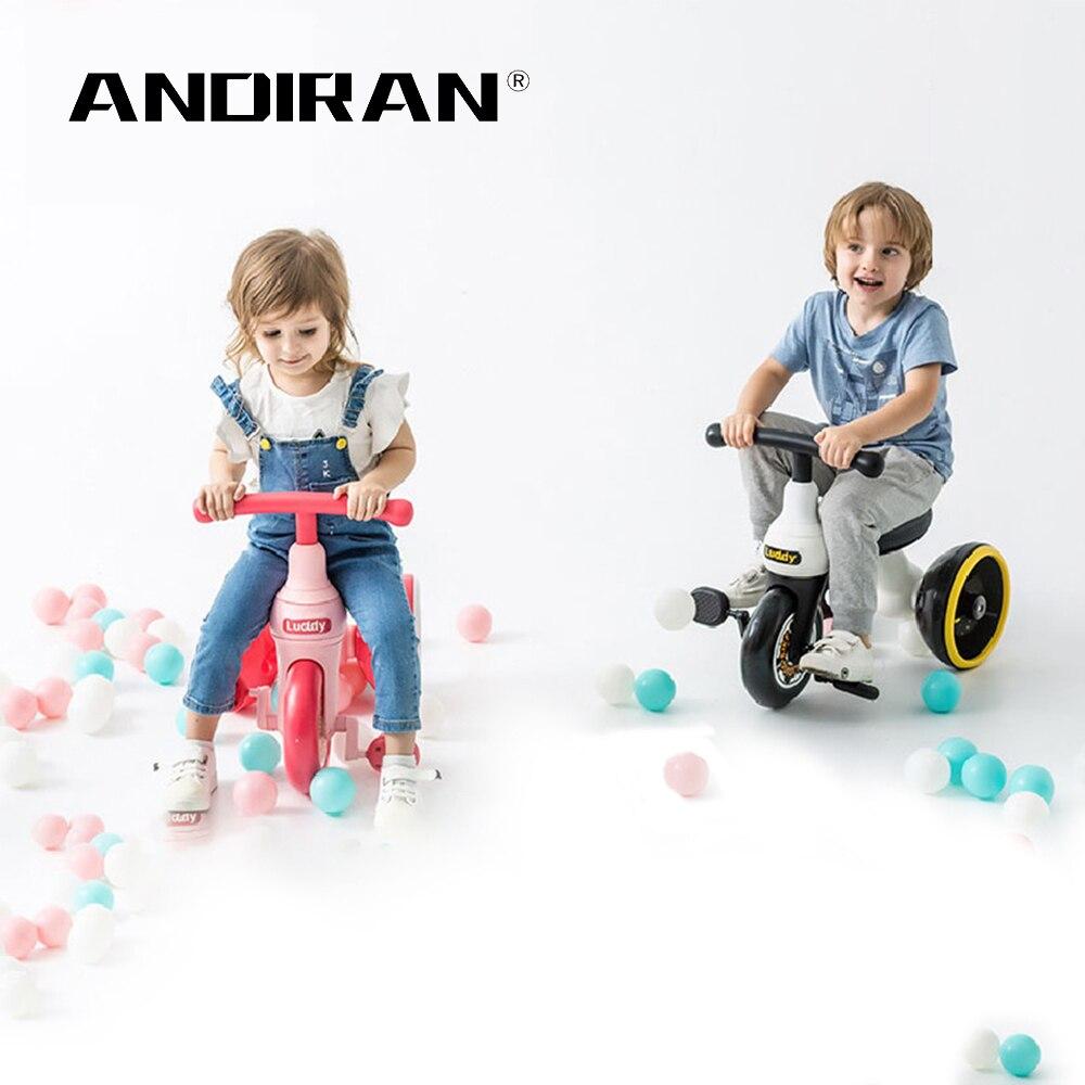 Enfants Tricycle Balance vélo enfants Scooter bébé marcheur haute qualité Concept conception de roue Original pour 1-6Y