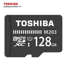 TOSHIBA M203 TF Card microSD Card 128GB 64GB 32GB 16GB Memory Card 100MB/s SDXC/SDHC Class10 UHS-I F