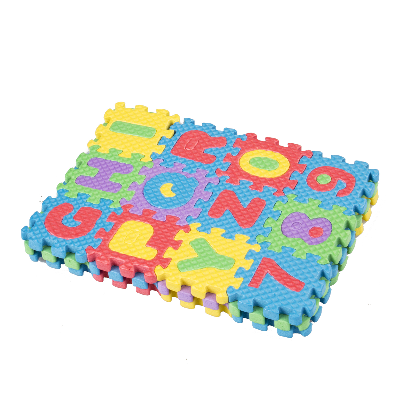 Pack of 3 Sets Numbers and Letters Foam Puzzle Tiles Item #1410-3 by 2GoodShop Alphabet /& Numbers Puzzle Educational