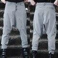 Мужчины в одежда брюки британский стиль чёрно-белый гусиные лапки шотландка брюки мужчины шаровары женские спортивные брюки / 28 - 32