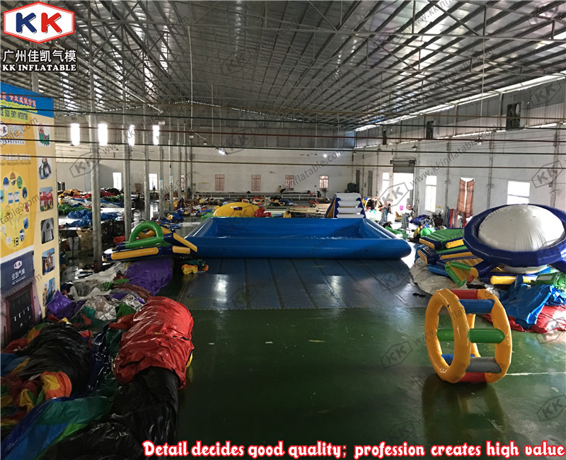 Original manufacturer cheap 0.6~0.9mm PVC customized square oval inflatable pool