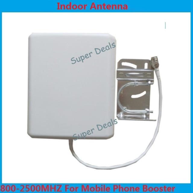 800-2500 mhz GSM antena interna, antena 2G/3G CDMA/GSM/DCS/AWS/WCDMA sinal de telefone celular móvel indoor 8dBi antena painel de parede