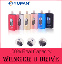 I-flash drive 32 gb 64 gb micro usb pen drive relámpago/otg usb flash drive para iphone 5/5s/5c/6/6 plus/ipad samsungs7/s6 pendrive