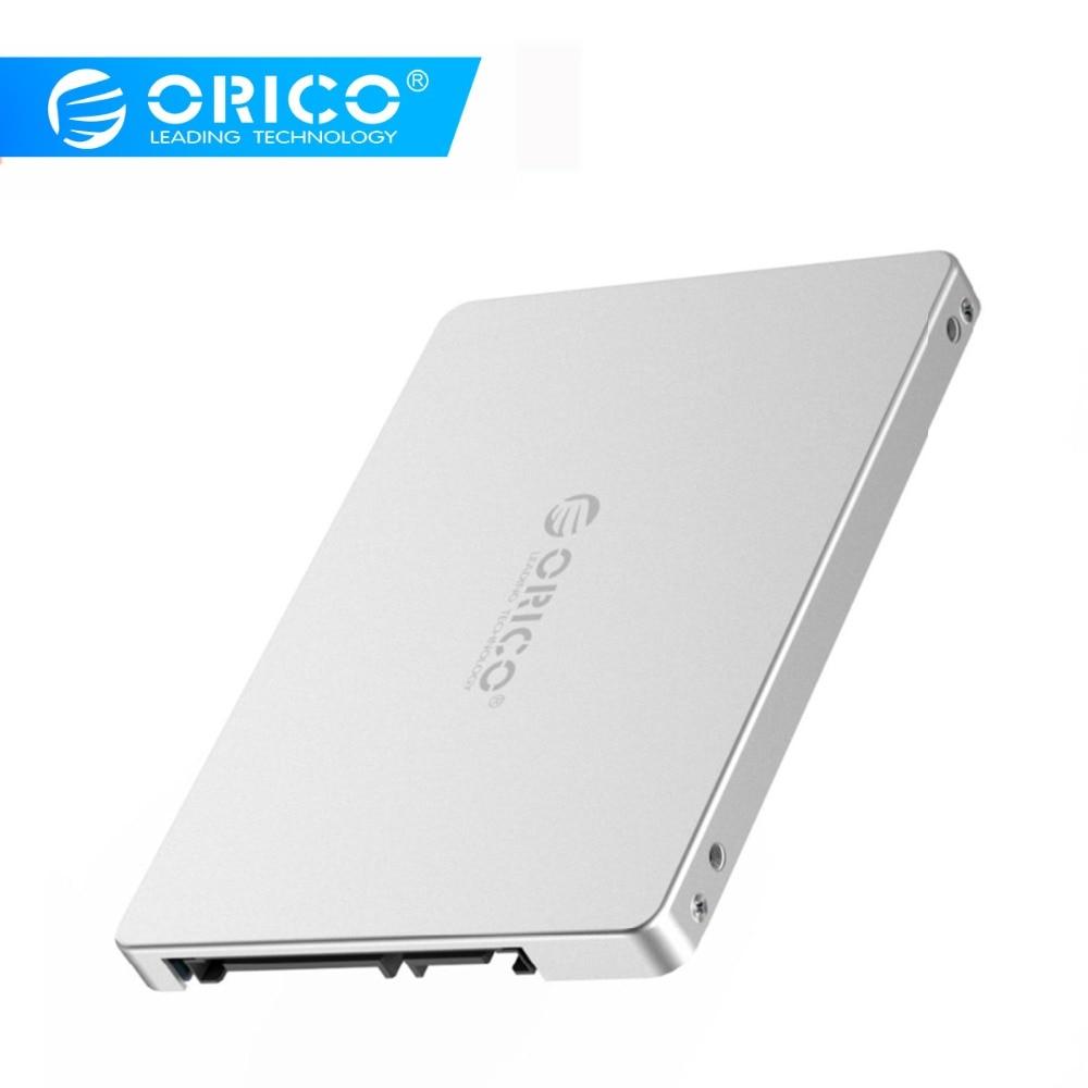 ORICO Aluminum 2.5 Inch M.2 NGFF To SATA Adaptor Convertor High Speed 6 Gbps Support 2TB 2230 2242 2260 2280 M.2 SSD M.2 B-Key