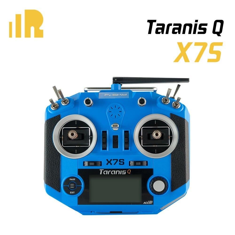 FrSky Upgraded Taranis Q X7S with M7 Hall Sensor Gimbal 16 Channels Transmitter frsky m7 r high sensitivity hall sensor gimbal support 45 degree throttle for q x7 radio transmitter remote controller rc models